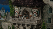 6x20 Prince David Charmant Blanche-Neige fin chanson Powerful Magic vue balcon cour palais royal