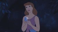 Cendrillon (Disney) 1950 pantoufle de verre restante mains remerciement cadeaux présents Marraine la Bonne Fée mini