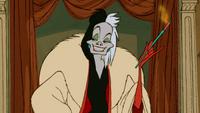 Les 101 Dalmatiens (Disney) Cruella d'Enfer cigarette sourire