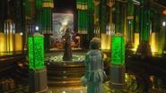 3x20 Cité Palais d'Émeraude Zelena Méchante Sorcière de l'Ouest Walsh Magicien d'Oz Singe Volant Glinda Gentille du Sud