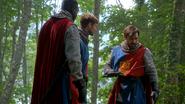5x01 Lancelot Perceval Roi Arthur Excalibur incomplète secret