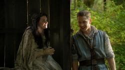 6x07 Blanche-Neige Prince David berger rencontre roulotte Bûcheron sourires