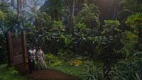 5x04 Lancelot Mary Margaret Blanchard porte magique arrivée dimension forêt jungle