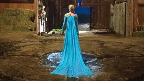Elsa in Once Upon A Time - Season 3 Finale - Frozen - Clip HD-1