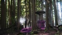 1x22 Belle French M. Gold magie nuage violet retour puits à souhaits forêt