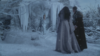3x19 Glinda Blanche-Neige Prince David Charmant dimension forêt