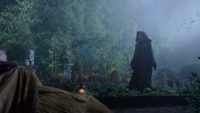 7x09 Jardin de Gothel sorcière surprend Raiponce