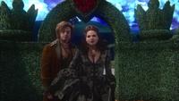 1x17 Reine Regina Jefferson Chapelier fou labyrinthe pays des merveilles
