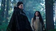 3x12 Reine Regina Blanche-Neige cœur forêt enchantée
