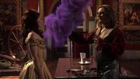 2x19 Chateau des Ténèbres Rumplestiltskin téléportation arc magique Belle