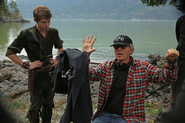 3x05 Photo tournage 8