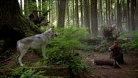 1x07 Chasseur sacrifice biche loup forêt enchantée