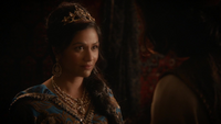 6x05 Jasmine Aladdin Agrabah discussion chantage scarabée d'or aide