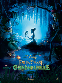 La Princesse et la Grenouille The Princess and the Frog Disney 2009 affiche poster