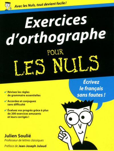 Exercices d'orthographes pour les nuls