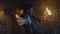 Pirates des Caraïbes 4 La Fontaine de Jouvence Edward Teach Barbe Noire sabre