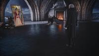 5x12 Cora Reine de Cœur Henry Sr miroir magique chambre royale palais sombre