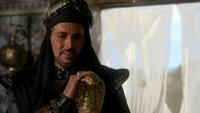 6x01 Jafar bâton serpent main Agrabah regard pitié Aladdin Sauveur