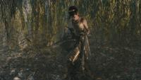 Into the Woods Cendrillon transformation robe de bal dorée mini