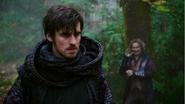 5x10 Killian Jones Capitaine Crochet Ténébreux Rumplestiltskin voix tentative persuasion ténèbres vengeance refus