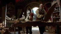 1x01 Geppetto Pinocchio armoire magique construction