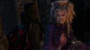 1x02 Méchante Reine Regina dos Maléfique sourire moquerie nuit de noces Blanche-Neige