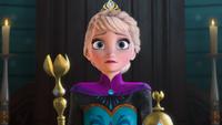 La Reine des Neiges (Disney) 2013 Elsa couronnement mini