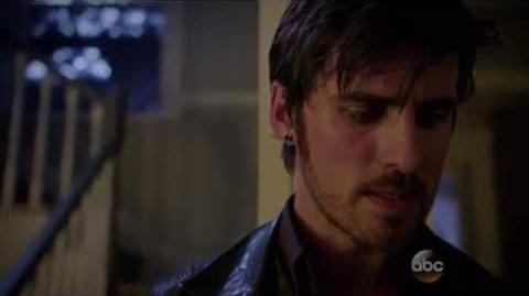 OUT - 5x08 Emma turns Hook into the Darkone (Hook death scene) Subtitulos en español
