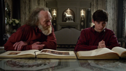 4x22 Mairie Apprenti Sorcier Henry livres de contes Heroes and Villains Once Upon a Time travail d'Auteur