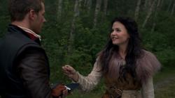 1x03 Prince David Charmant bague de Ruth Blanche-Neige sourire fiancée