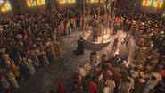 1x01 Méchante Reine Regina départ Blanche-Neige Prince David Charmant pavillon mariage