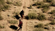 2x01 désert herbes Mulan Prince Philippe chevaux direction palais