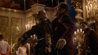 6x02 Edmond Dantès Comte de Monte-Cristo tuerie assassinat meurtre épée Baron Danglars mort vengeance revanche