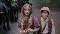 1x09 Hansel Gretel rencontre Reine Regina