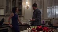 1x20 Regina Mills David Nolan Maison Mills dessert diner tentative