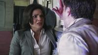2x05 Daniel immobilisé Regina larmes écuries