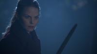 6x10 Emma Swan épée cimetière de Storybrooke envie meurtre Reine Regina Sérum