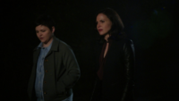 4x08 Mary Margaret Blanchard Regina Mills recherche Emma discussion espoir