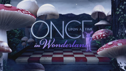 Once Upon a Time in Wonderland logo titlecard générique épisode W1x13
