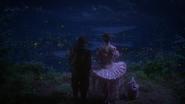 1x14 Grincheux Rêveur Fée Nova vue village colline des lucioles