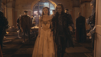 1x12 Belle Seigneur Maurice Rumplestiltskin Gaston sacrifice départ château