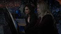6x08 Regina Mills Emma Swan monde derrière le miroir découverte Méchante Reine supercherie