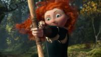 Rebelle Brave (Disney) Merida arc flèche visée Vers le Ciel mini