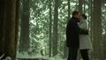 6x17 Mary Margaret Blanchard David Nolan forêt de Storybrooke baiser amour séparation