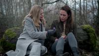 4x20 Maléfique Storybrooke Lily Page hochet forêt réconciliation