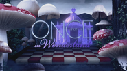 Once Upon a Time in Wonderland logo titlecard générique épisode W1x12