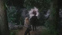 4x18 Emma Swan Henry Mills Cruella d'Enfer magie mort falaise