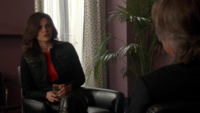 5x23 Regina Mills M. Gold hôtel verre discussion retrouver Zelena Belle