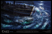 Mermaids Churing Concept Art