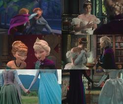 4x11 anecdotes références à Disney La Reine des Neiges Elsa Anna Hans punch chocolat 4x01